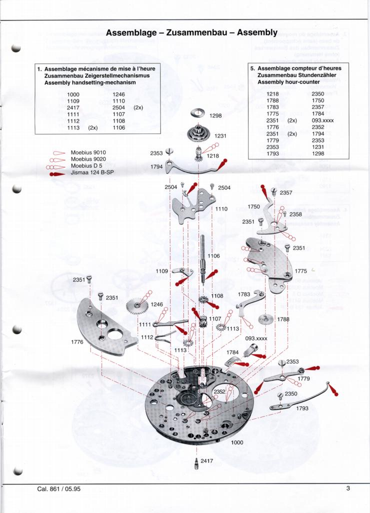 omega c 861 chronograph service manual